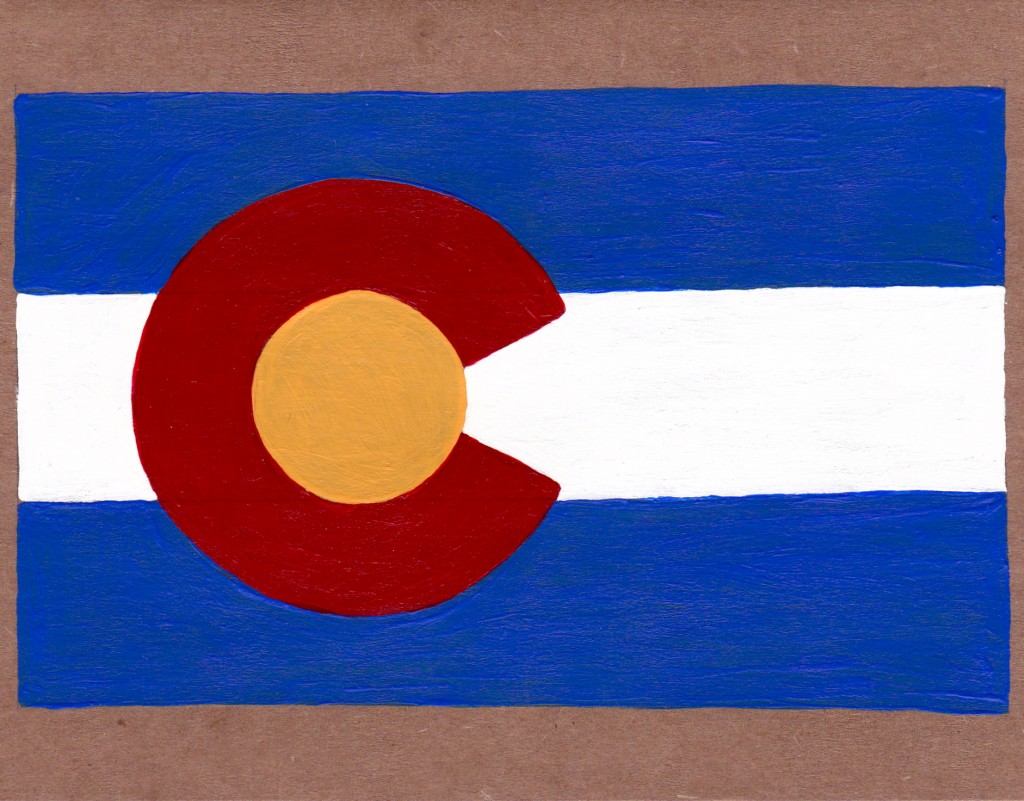 Greetings from CO.  Welcome someone to their new state!