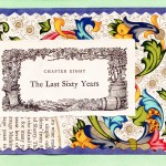 The Last Sixty Years.  A card that reflects on all the years prior to someone's 60th anniversary.
