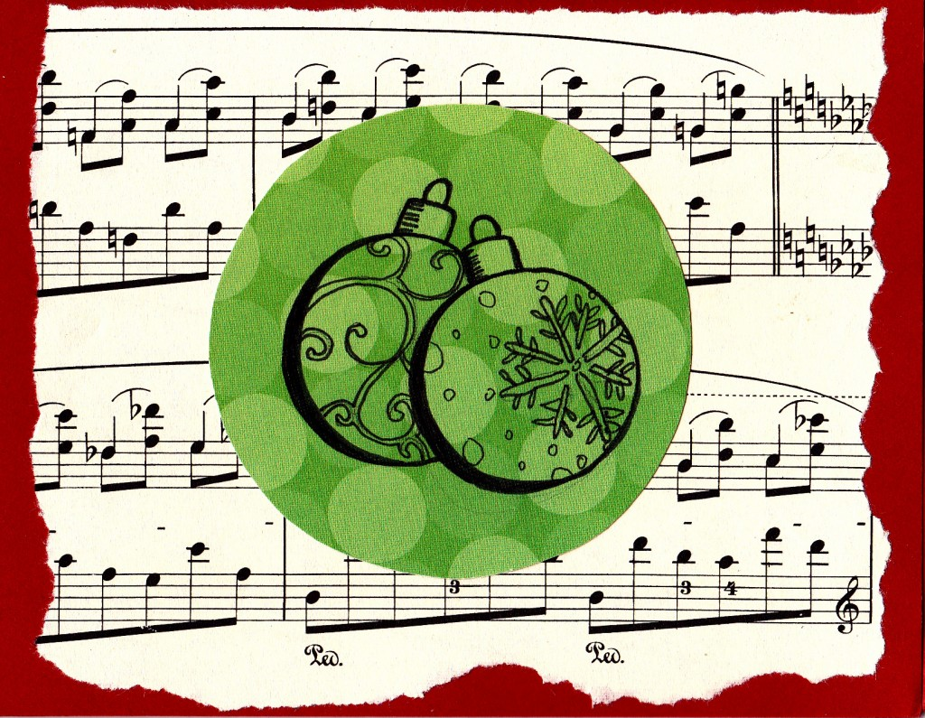 Christmas card (Ornaments)