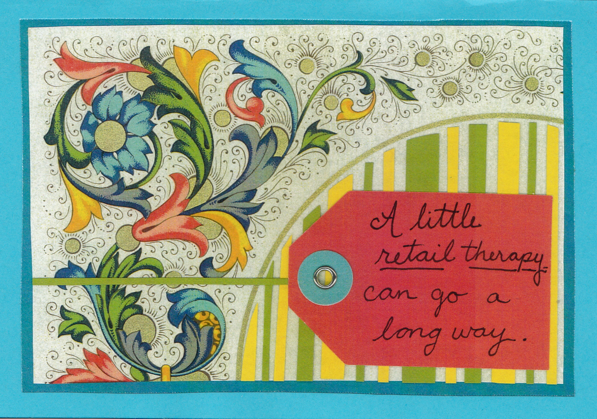 Retail Therapy card