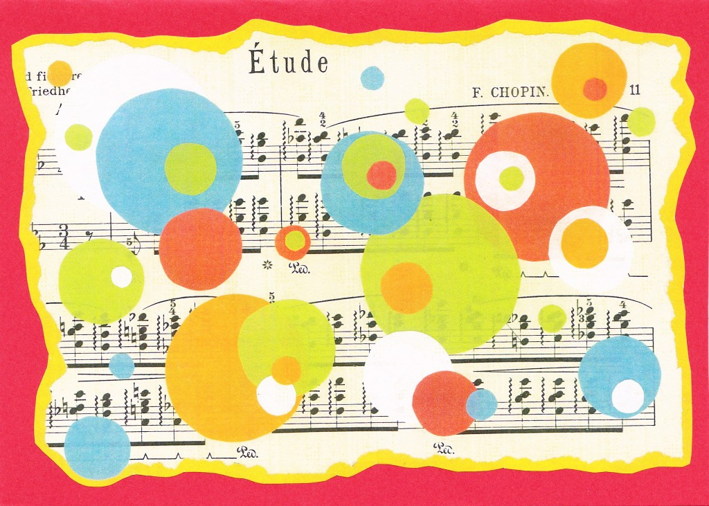 Music & Dots cards