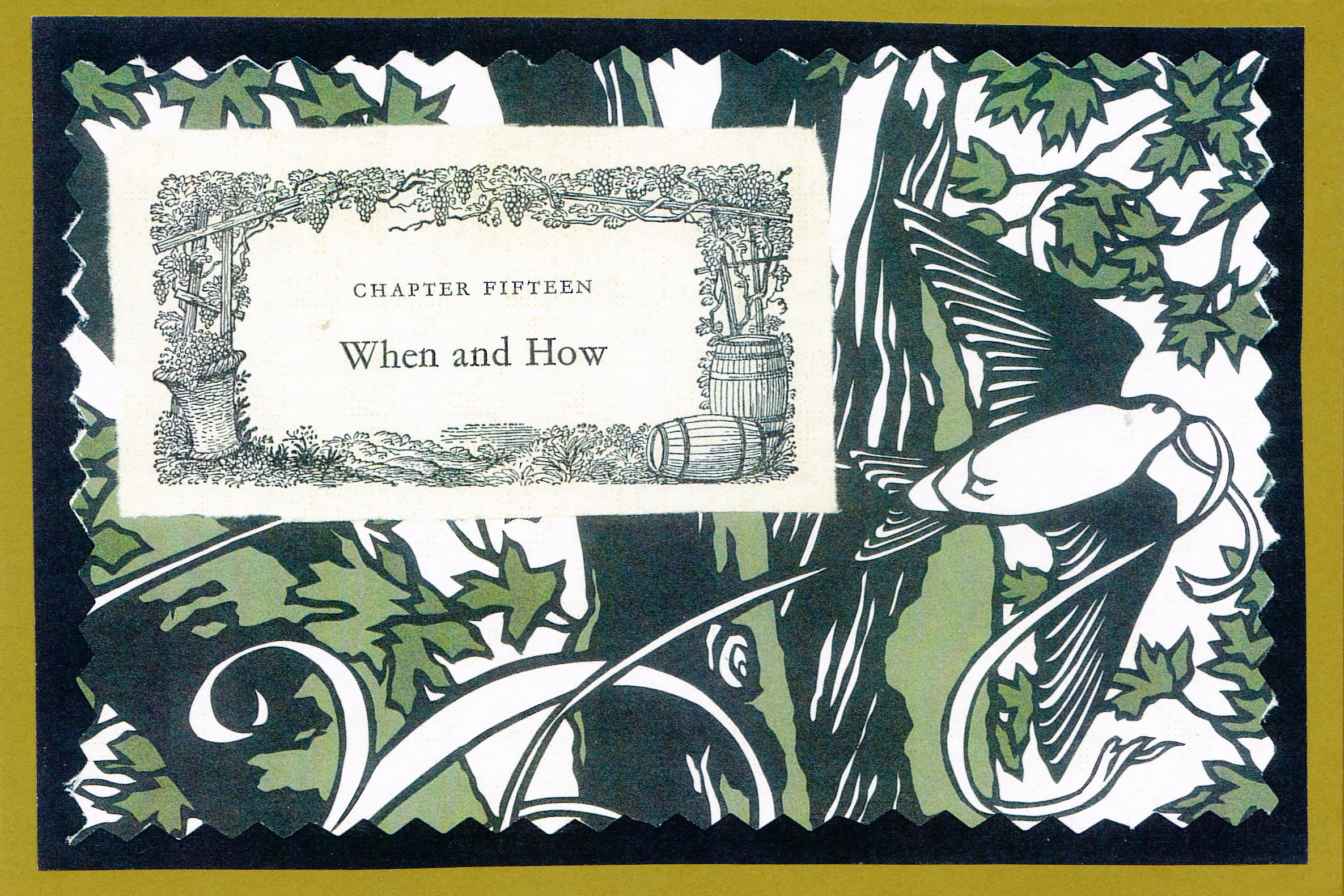"""When and How card.  This card creates a nice set up for revisiting the details of """"When and How"""" a couple met.  Aww..."""