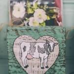 Barnyard block -COW-