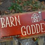Barn Goddess hanger