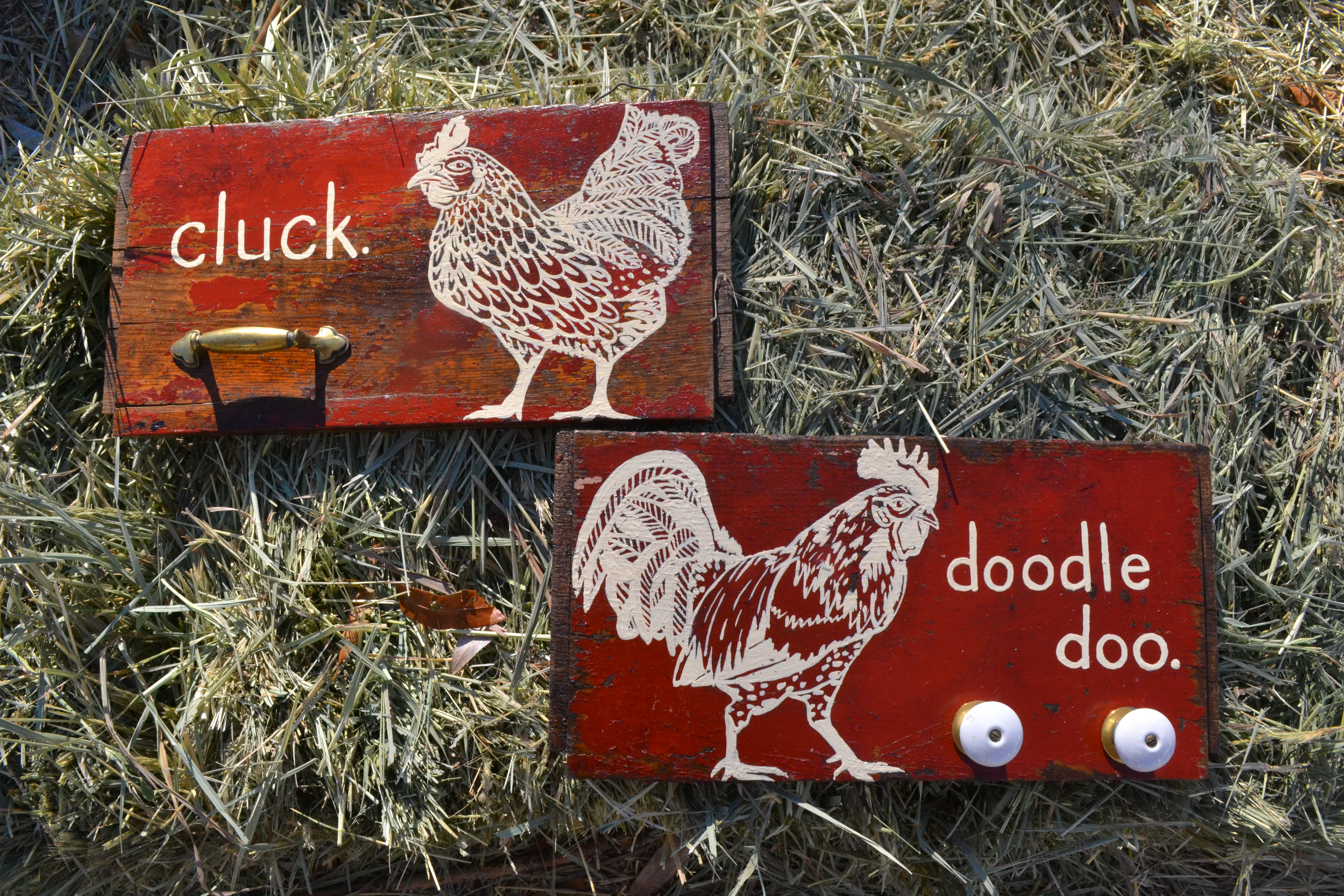 Cluck and Doodle Doo