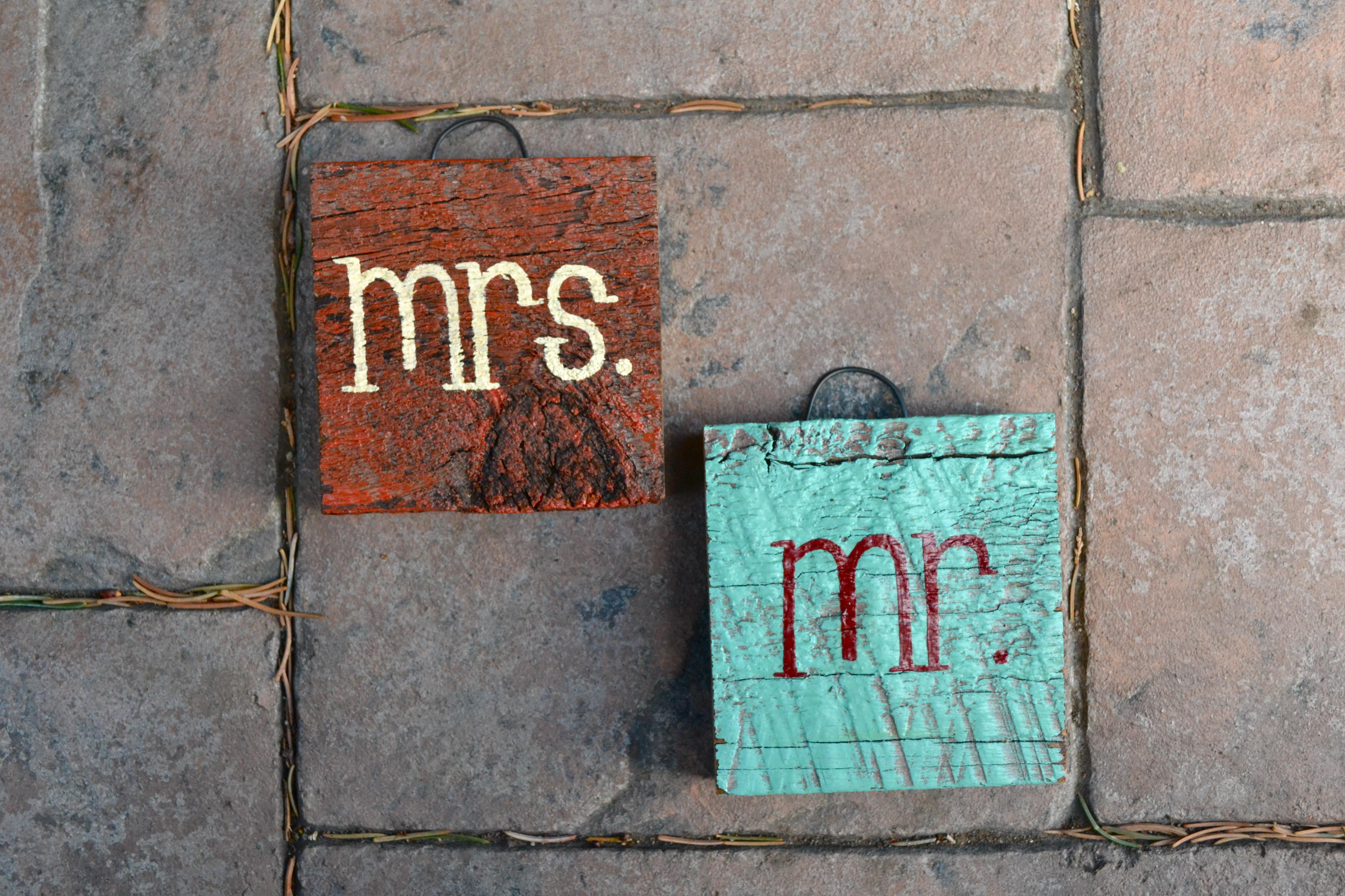 mR. & MrS. blocks