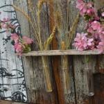 Aspen and test tubes flower holder