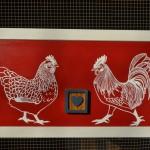 SCaVenGeR deSigNs' Hen ♥ Rooster