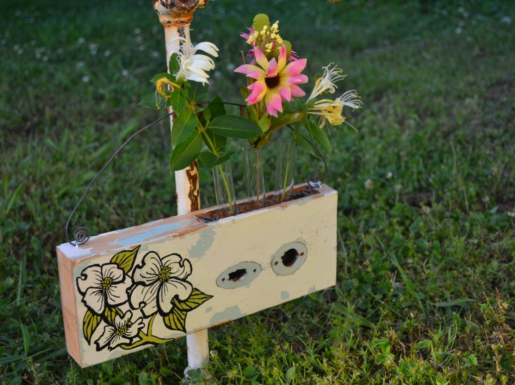 Dogwood Test Tube flower holder