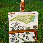 NC Dogwood mixed media