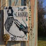 Le Canard hanger