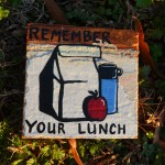 Remember your lunch