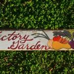 Victory Garden sign