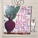 And the beet goes on... key hanger