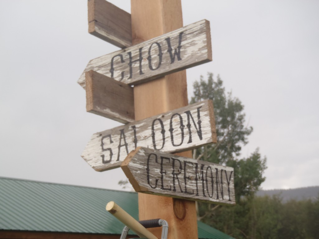 Barn Wood Wedding signs