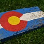 CO Flag (rustic)